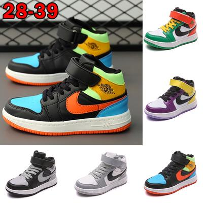Fashion Children's Sneakers Boys and Girls High-top Skateboarding Shoes Youth Sports Shoes Female Casual Shoes