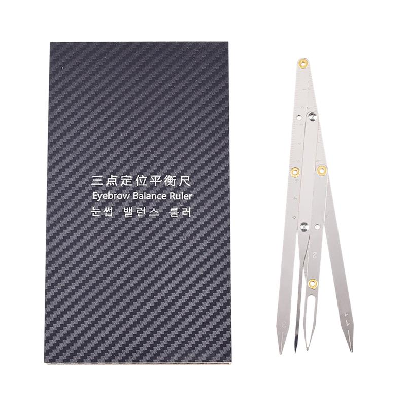1pcs Permanent Makeup Eyebrow Ruler Golden Ratio Divider Caliper Microblading Stencil Shaping Tool Buy At A Low Prices On Joom E Commerce Platform