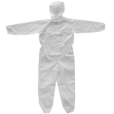 Small Antistatic Spray Protection Hood Coverall Jumpsuit