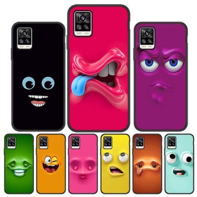 Cases For Vivo Y31 Y81 Y17 Y19 Y11 2019 V20 V17 Cover for Nokia 3.1 7.2 1.4 Moto Meizu M8 Lite LG K51 K50S Alcatel Silicone Cartoon Smile Phone Bag