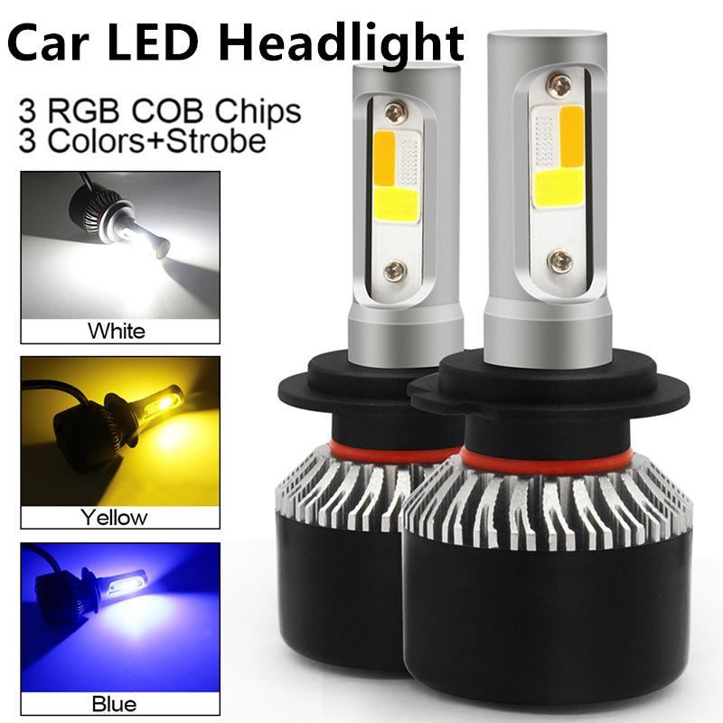 H11 LED Headlight kit Direct Fit 6000K for 2011-2016 Jeep Grand Cherokee Low Bea
