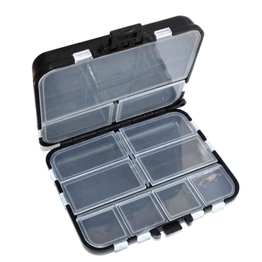 Portable Waterproof Fishing Lure Bait Tackle Storage Box Case Fishing Equipment