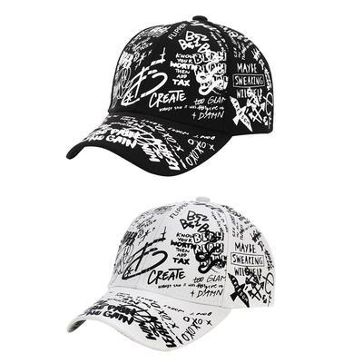Skeleton Middle Finger Classic Adjustable Cotton Baseball Caps Trucker Driver Hat Outdoor Cap Black