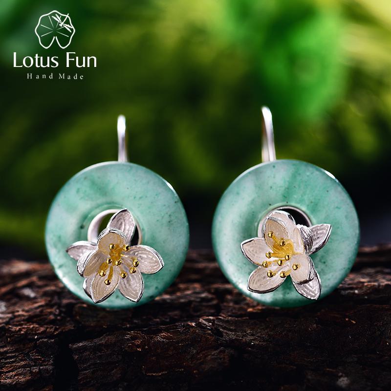 Gift for Her Time Flies Dangle Earrings
