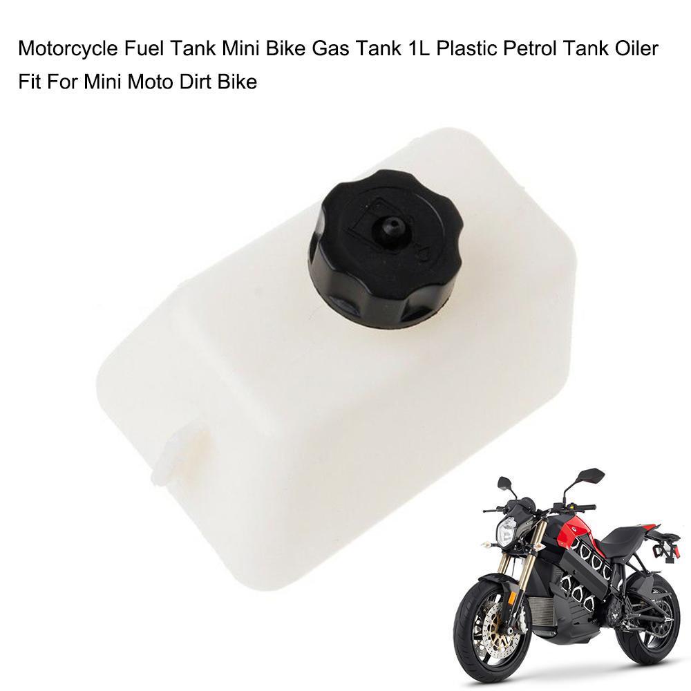 2-Stroke Pocket Bike Mini Motor Scooter Plastic Fuel Petrol Gas Tank 47 49cc