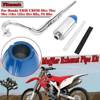 38mm MagiDeal Motorcycle Dirtbike Pit Bike Exhaust Muffler Pipe Silencer Tube