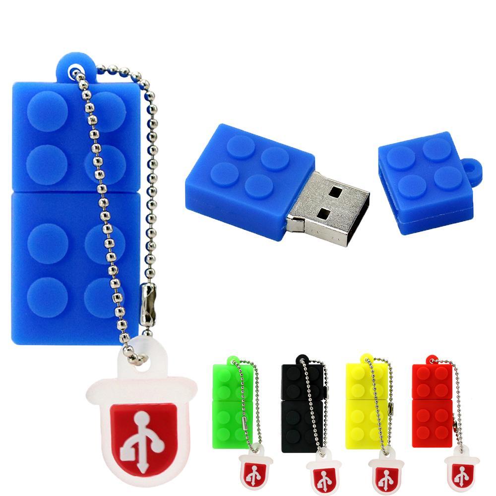 Unidad de Memoria Flash USB de 16 GB con Llavero Colgante para Almacenamiento de Datos