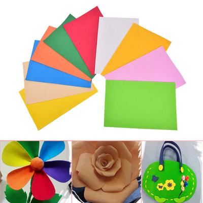 10pcs Pack Eva Foam Sheets Handmade Paper Fun Kids Craft Gift