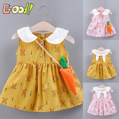 New Baby Girls Faux deux Party robe bébé fille printemps automne Vêtements Tutu