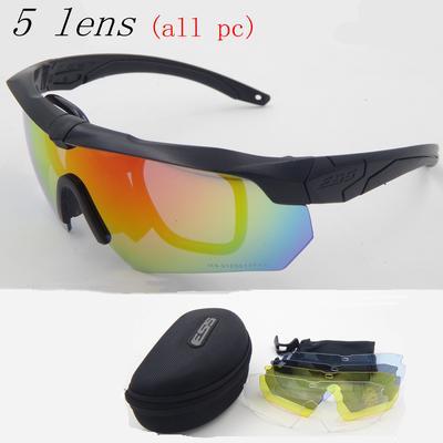 TR90 militares gafas 5 lente polarizada balístico militar ejército gafas de sol  hombres Sport a prueba de balas - comprar a precios bajos en la tienda en  ... ac32af0a7e9d