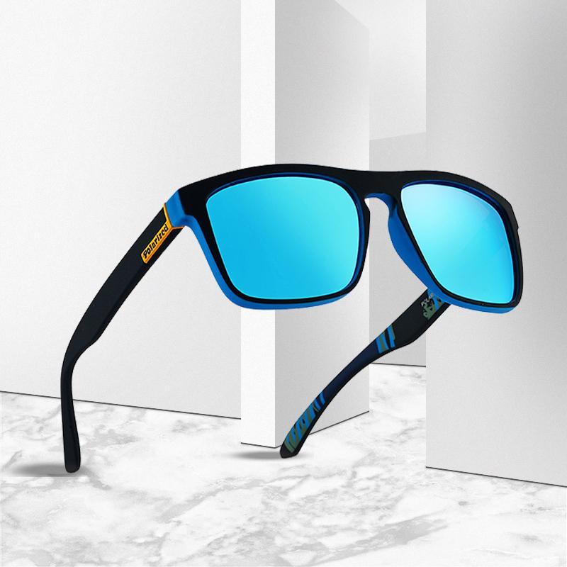Модные мужские солнцезащитные очки поляризованные солнцезащитные очки мужские классические брендовые дизайнерские наружные зеркальные очки для вождения – купить по низким ценам в интернет-магазине Joom
