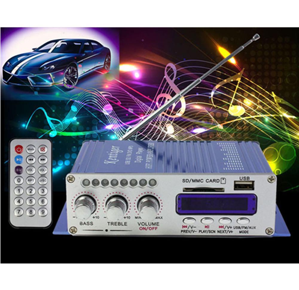 New 2CH 200W Power Mini HiFi Audio Stereo AMP Amplifier For ipod Car Home MP3