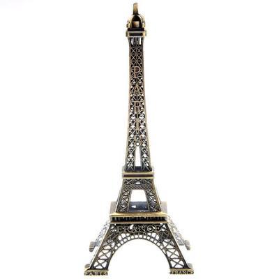 15CM Metal Paris Eiffel Tower Model Souvenir Decoration