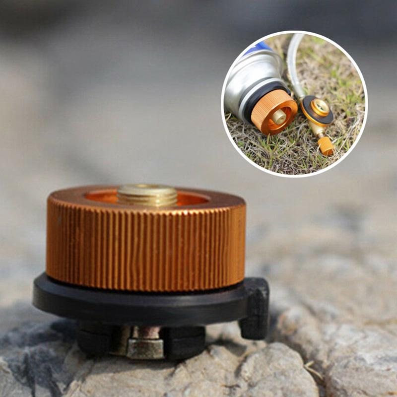 Camping  Burner Cartridge Gas Fuel Canister Stove Cans Tank Adapter/_Converter