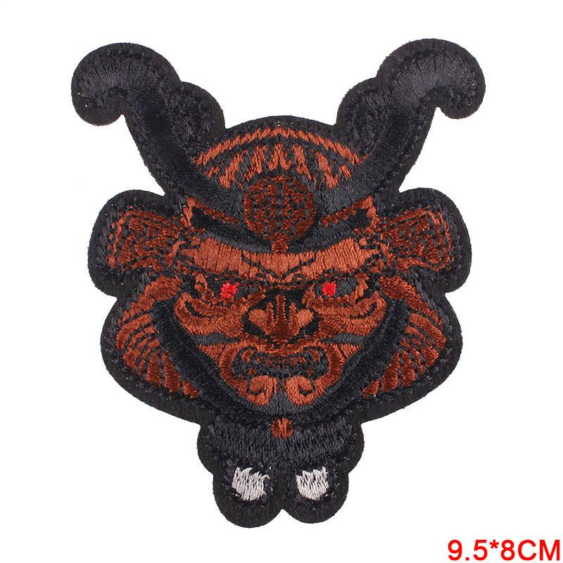 Skull Patch Biker Rock Iron On Embroidered Hippie Patches For Clothes Stickers Pirate Patch Applique Buy At A Low Prices On Joom E Commerce Platform