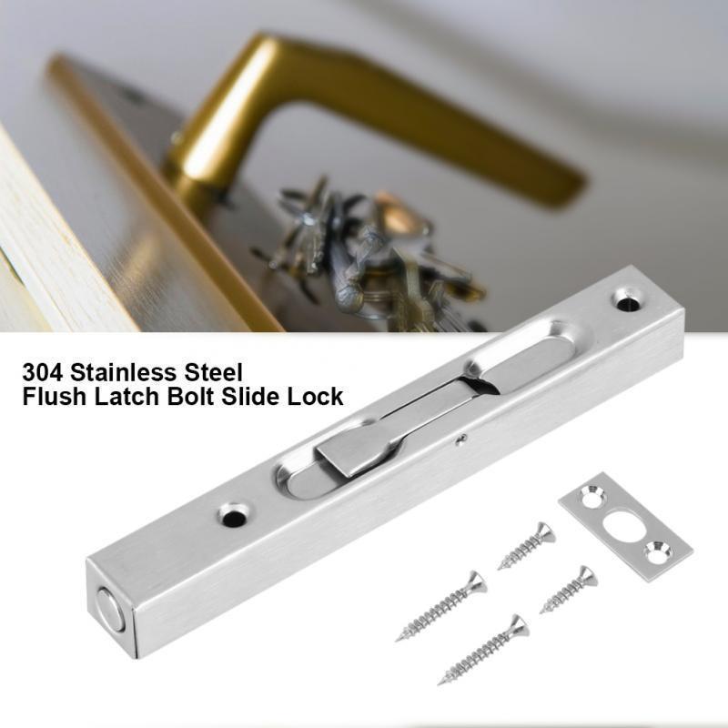 Sicherheit Kind Schiebetür Patio Fenster Bolzen Verriegelung Fangen Push Lock X