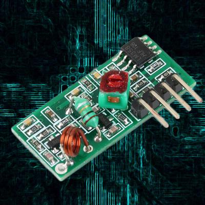 433Mhz RF Transmitter Receiver Wireless Kit Transmitter