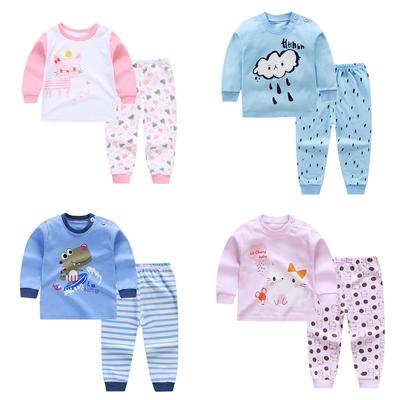 Summer Kids Silk Pajama Sets Baby Boys Girls Pajamas Sleepwear Outfit Print V Neck Shirt Pants Nightwear Set 2pcs 0 4y Buy At A Low Prices On Joom E Commerce Platform