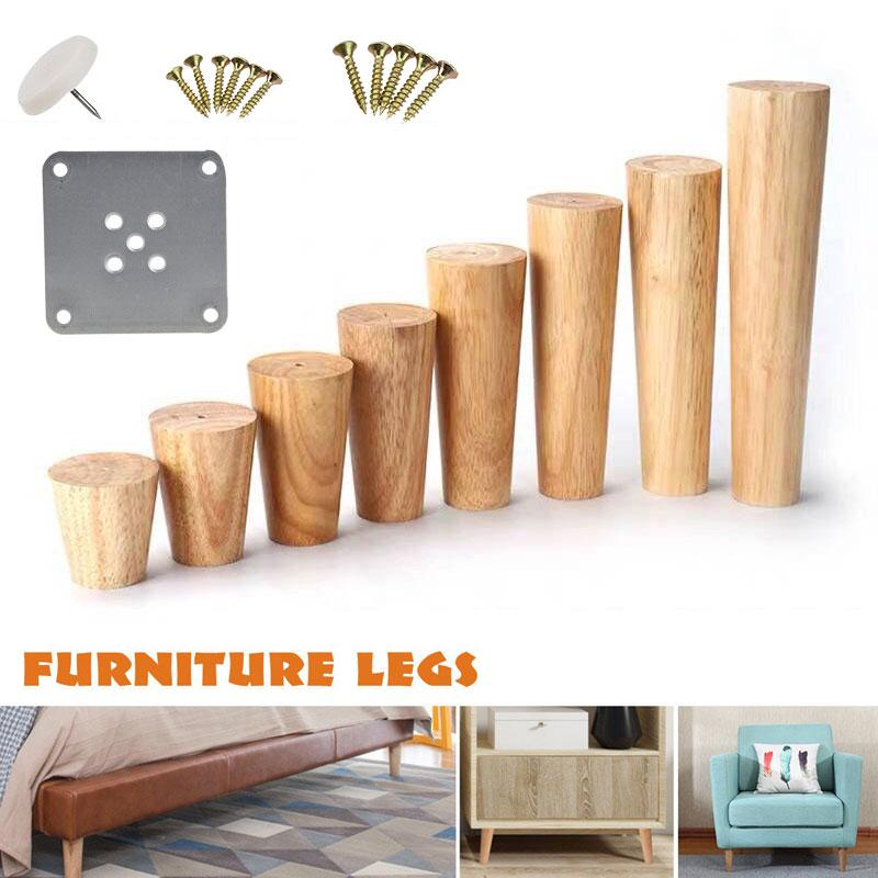 1pcs Multiple Size Solid Oak Wood Sofa, Where To Get Legs For Furniture