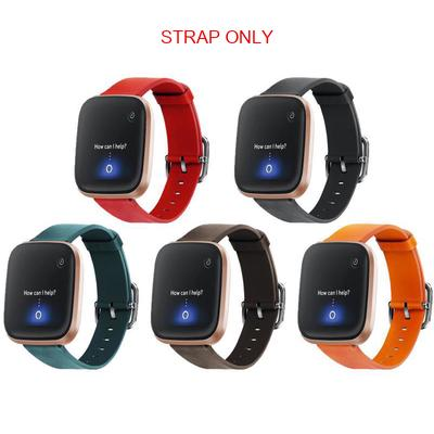 For Fitbit Versa /Versa 2 /Lite Genuine Leather Watch Band Wrist Strap Bracelet