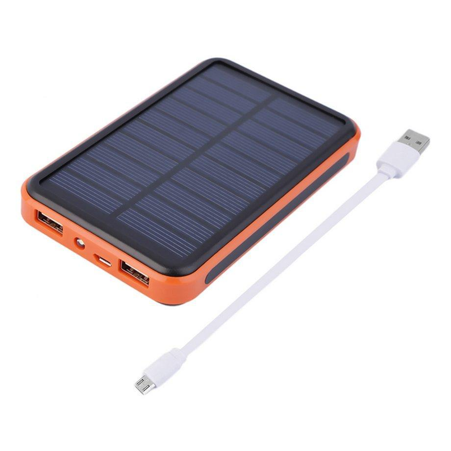100000MAH Large Capacity External Solar Power Bank Travel Battery Charger