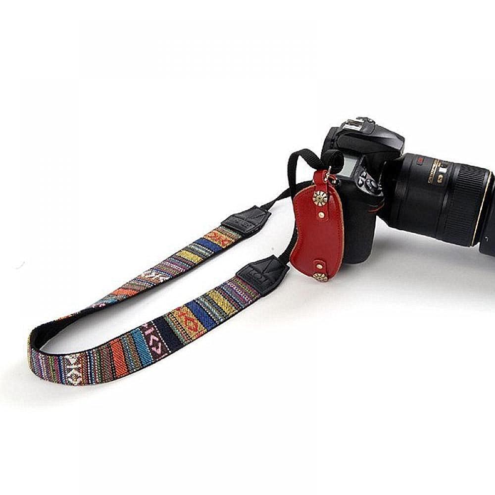 Camera Belt Accessory Ethnic Photo Camera Strap Cotton Yard Neck Shoulder Hand Strap for Digital Camera Durable
