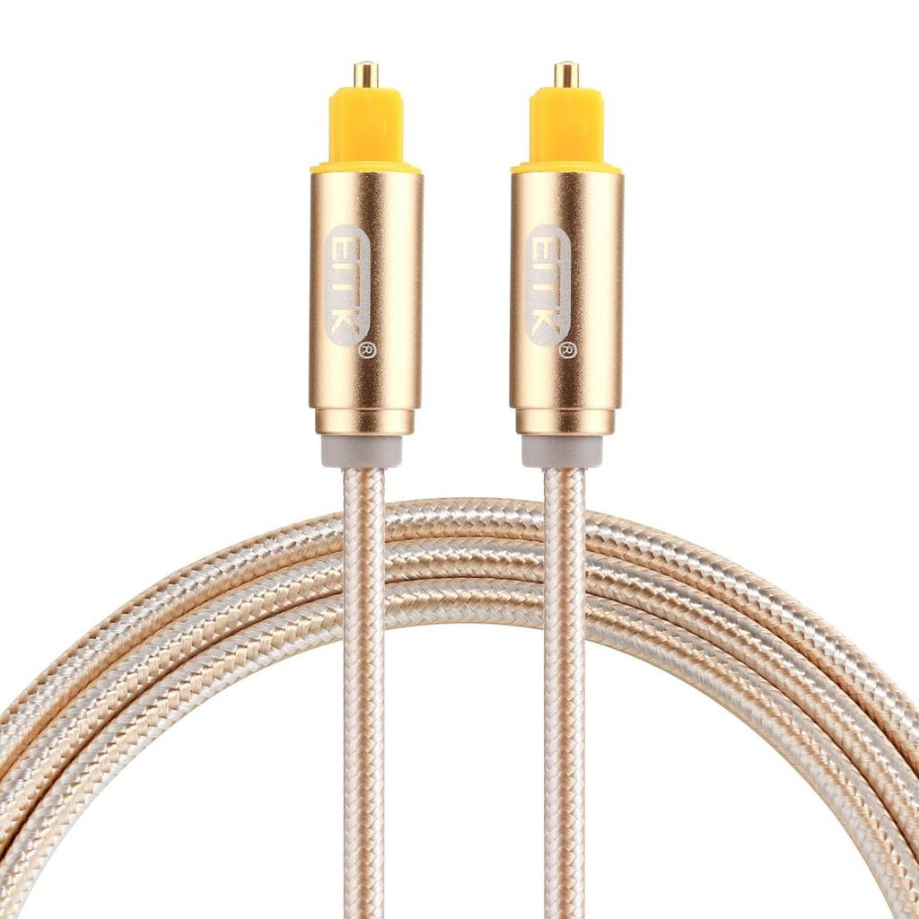 Optical Cables EMK 5m OD4.0mm Toslink Male to Male Digital Optical Audio Cable