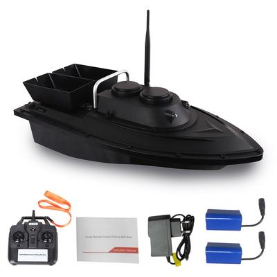 500M Wireless RC Fishing Bait Boat With 2 Motors 2 Spare Batteries Handbag Bag