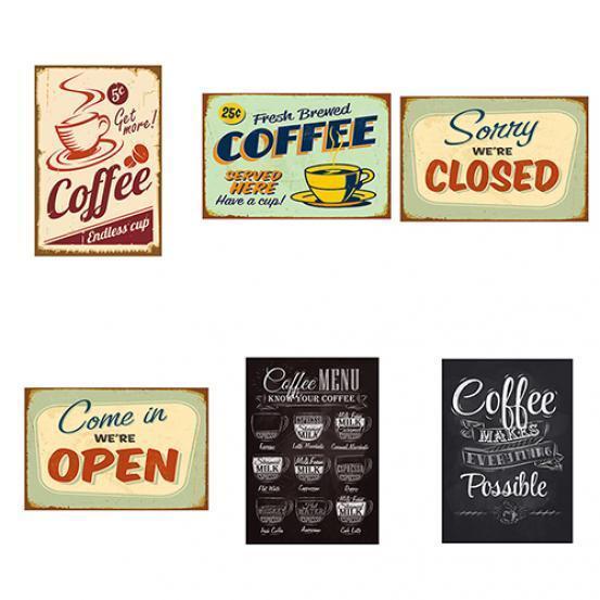 20x30cm Retro Sign Tin Plaque Poster for Bar Pub Shop Hotel Tavern Coffee #6