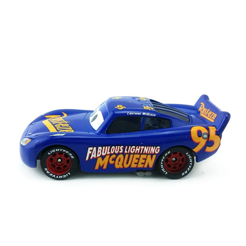 Disney Pixar Cars 3 No 95 Fabulous Lightning Mcqueen 1 55 Metal
