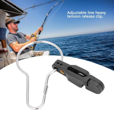 Red New Snap Release Fishing Board Release Clip Offshore Adjustable Line Clips