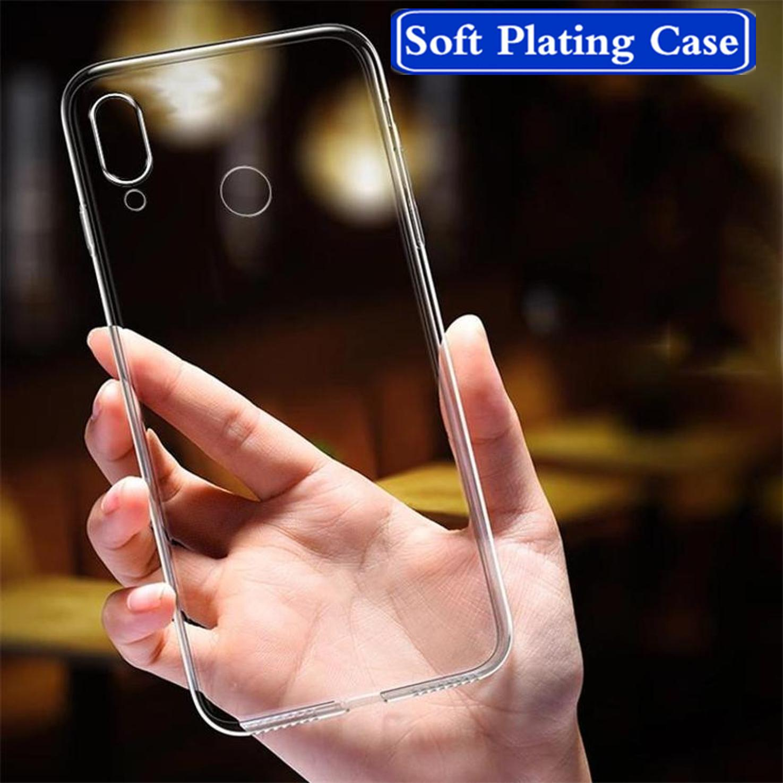 1Pcs Много Мягкий TPU Полный-Покрытие Clear Case на для Iphone 7/8/плюс Iphone 11 Pro Телефон бампер фото