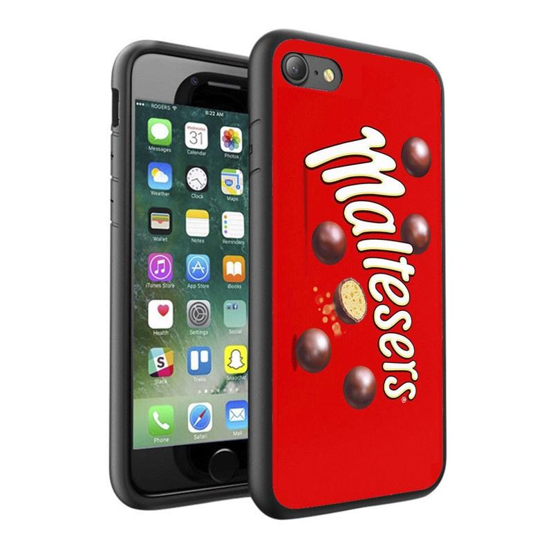 Maltesers Sweets Chocolate Design Phone Case Skin Cover For Iphone 4 5 6 7s Plus 8 X Case Samsung-buy at a low prices on Joom e-commerce platform