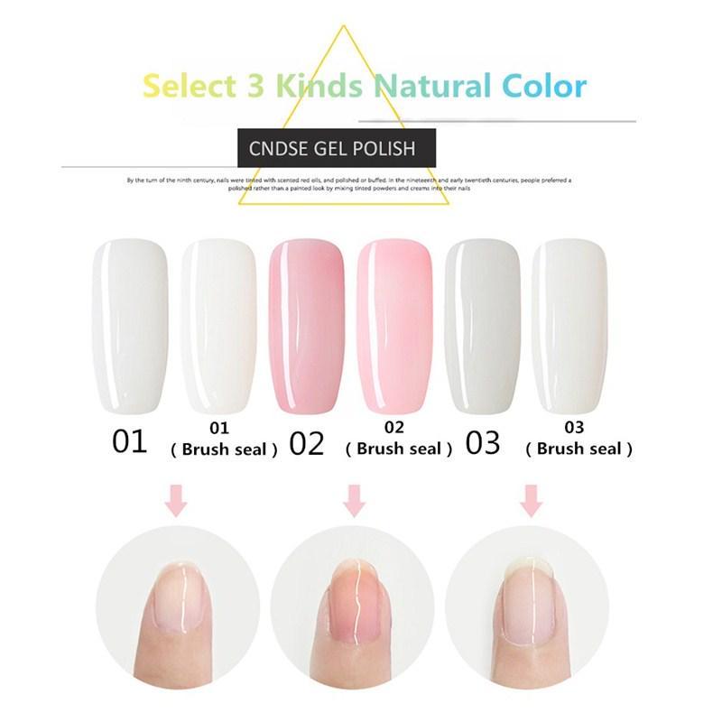 10ml Uv Led Gel Nail Polish Women Natural Color Series Protect The