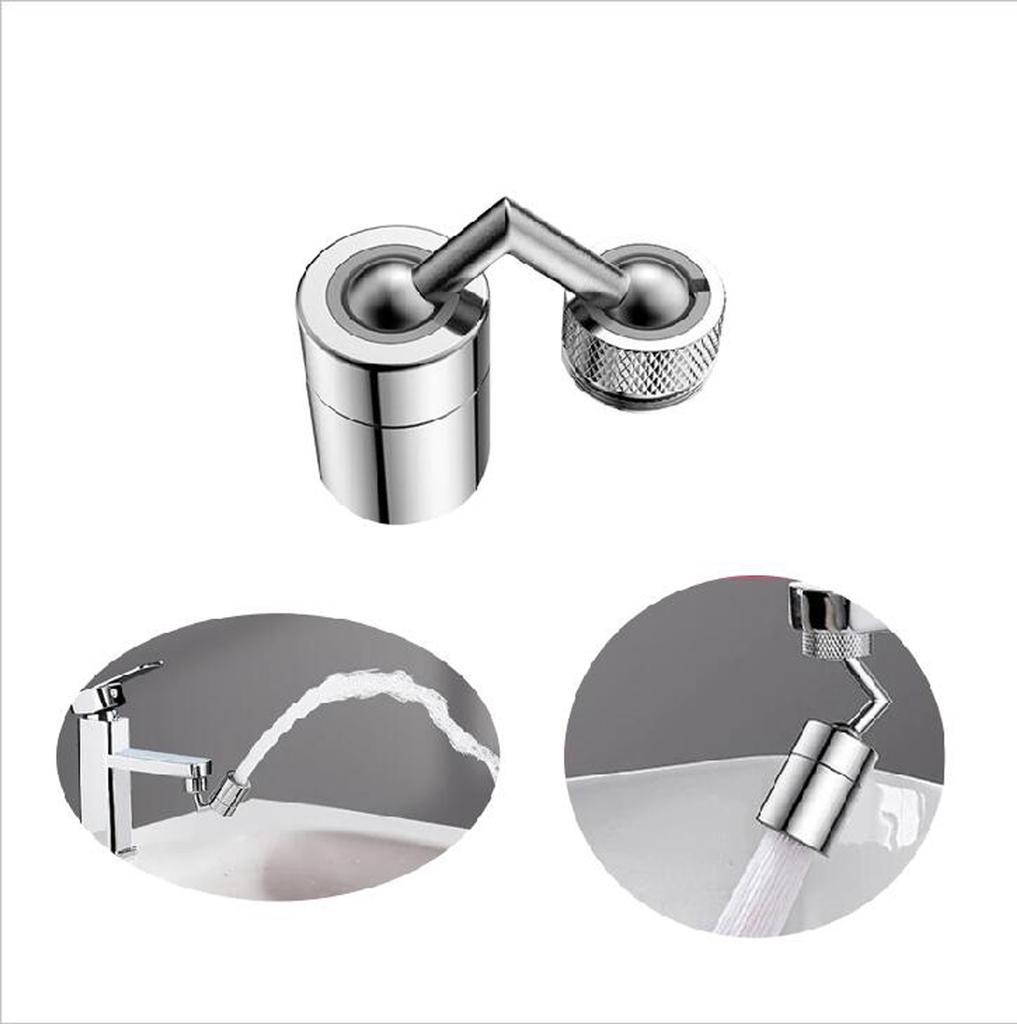 Universal Splash Filter Faucet 720/° Rotate Water Outlet Faucet 2020,Head Anti Splash Filter Faucet,Spray Head Anti Splash Filter Faucet Movable