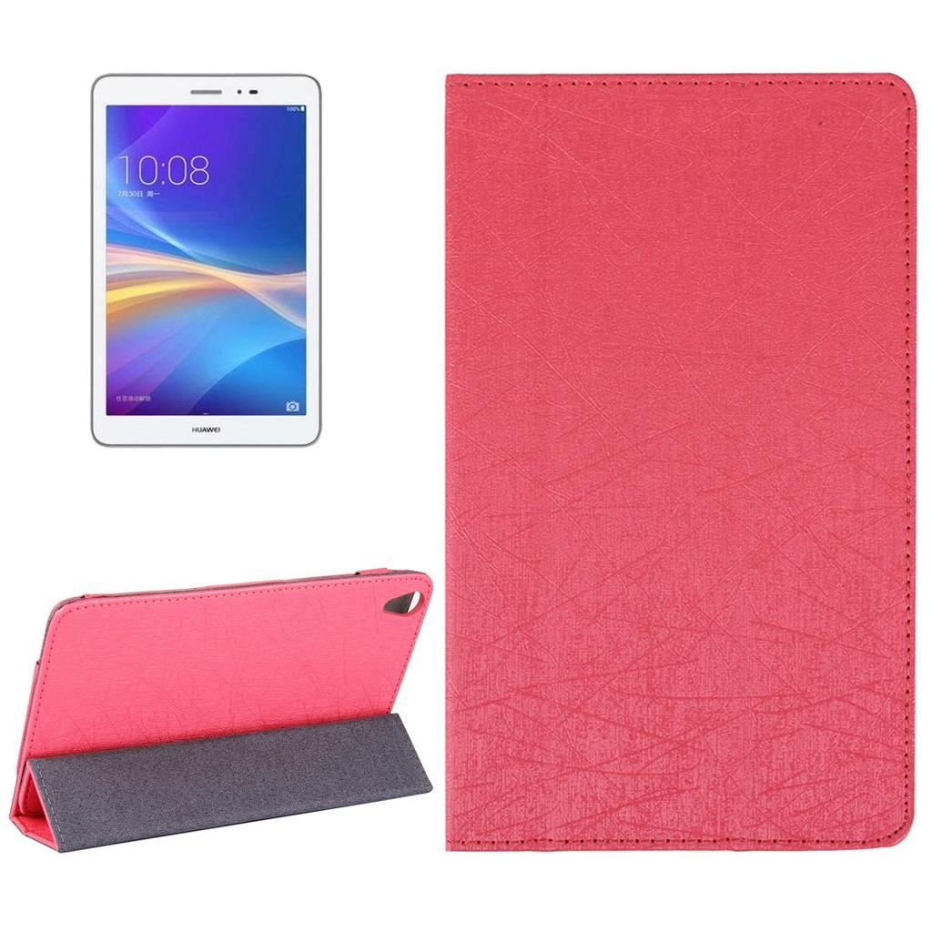 Huawei Honor Tablet 2 Strokes Texture Horizontal Flip Leather Case Book Cover Samsung Galaxy Tab A 2017 8 Inch 80 Sm T385 1 Of 10