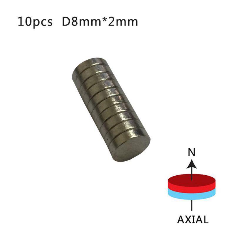 100pcs Neodymium Disc Mini 12mm X 3mm Rare Earth N50 Strong Magnets Craft Models