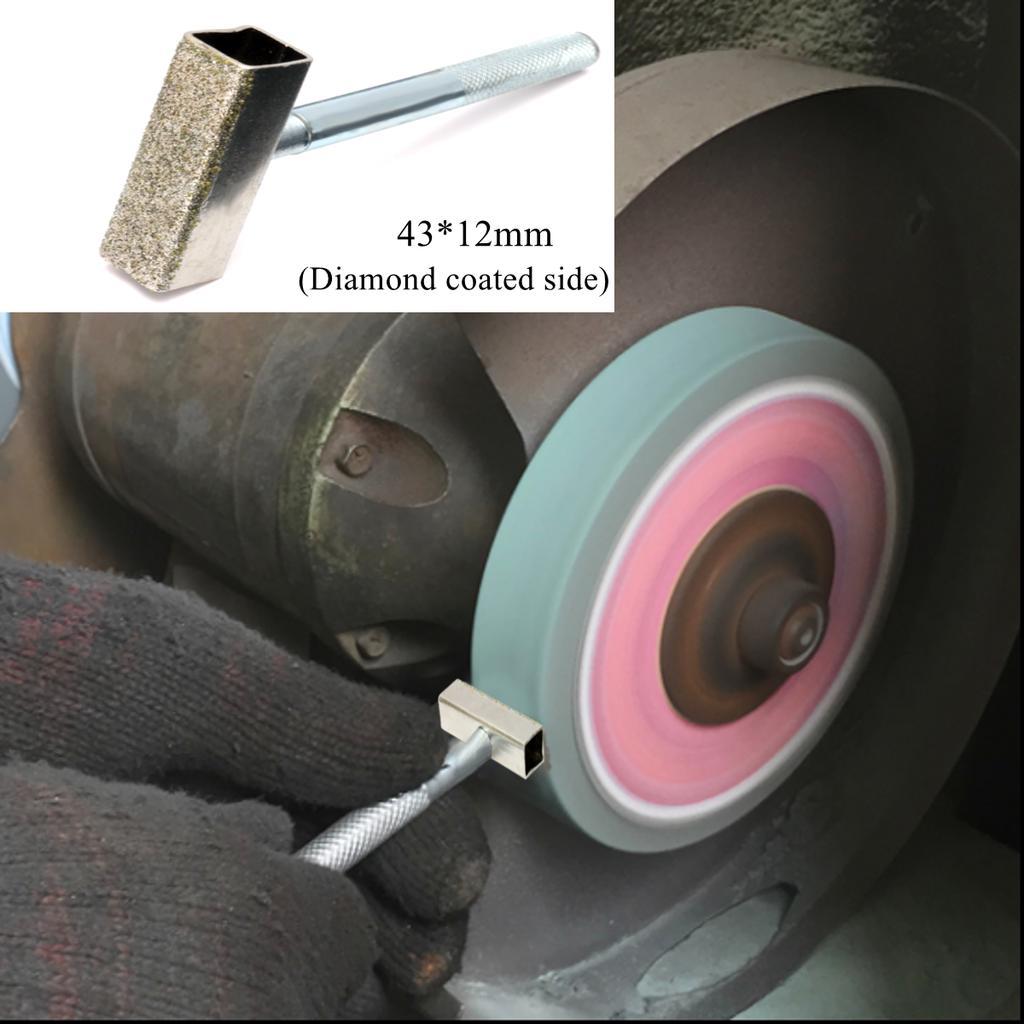 Grinding Wheel Dresser Flat Diamond Coated Surface for Truing Grinding Deburring