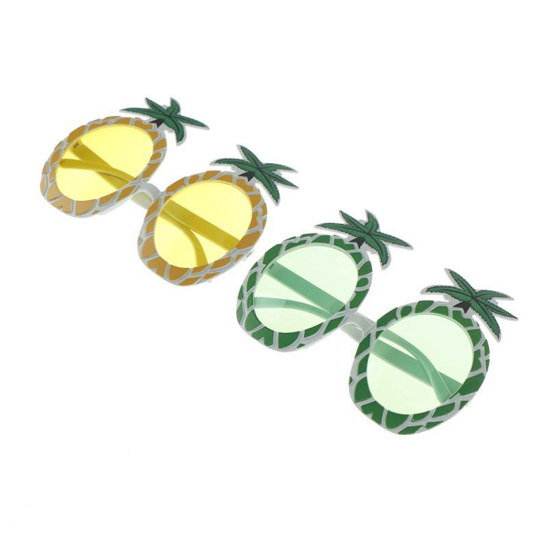 Donna Spiaggia Hawaiano Ananas Occhiali Da Sole Ragazze Costume Hawaiano Festa Accessorio