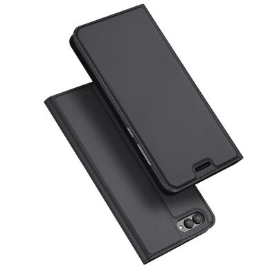 Luxury Flip Leather Case Slim Book Design Magnetic Protective Stand Cover With Card Slot For Huawei