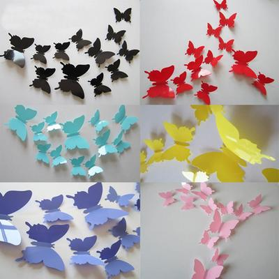 Ombre azul 3D mariposa corazón / 3D mariposa arte por RonandNoy ...   400x400