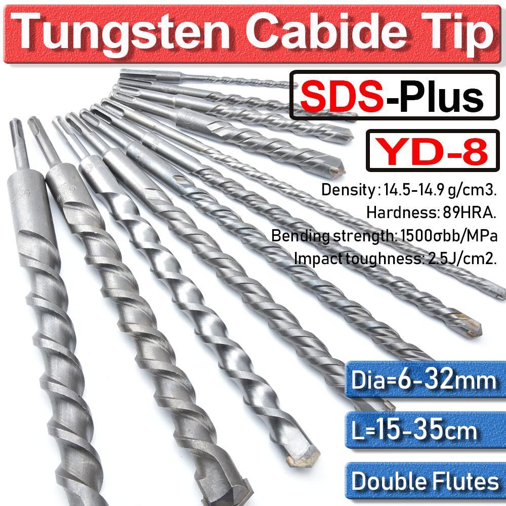 Masonry drill bit hardened steel tungsten carbide tip 14mm brick stone concrete