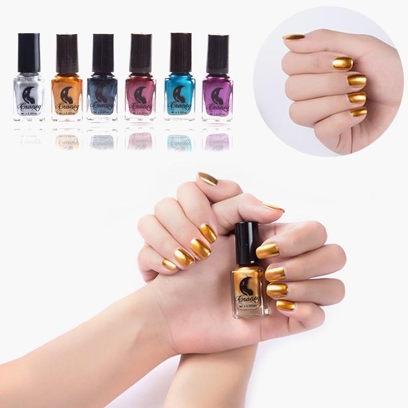 Transparente 7,3 ml esmalte de uñas larga duración Primer barniz ...