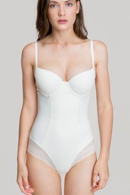 bodysuit alb de slăbire albă