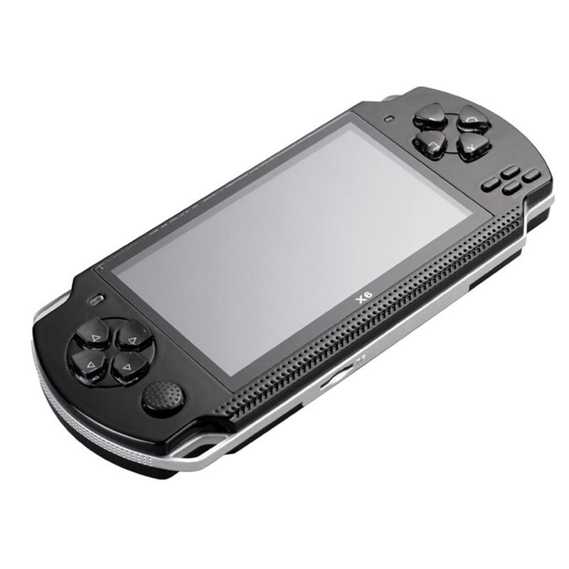 Powkiddy 4 3 Inch Retro Handheld Game Console 8Gb Portable Video Game  Built-In Free