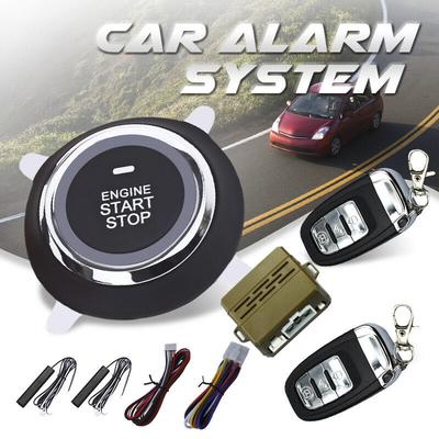 Car Engine Start Ignition Push Button Remote Keyless Entry Security Alarm System