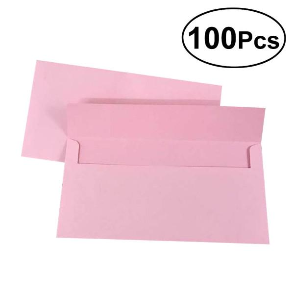 Colorful Envelopes For Greeting Festival Party Invitations Or Letters 100//10pcs
