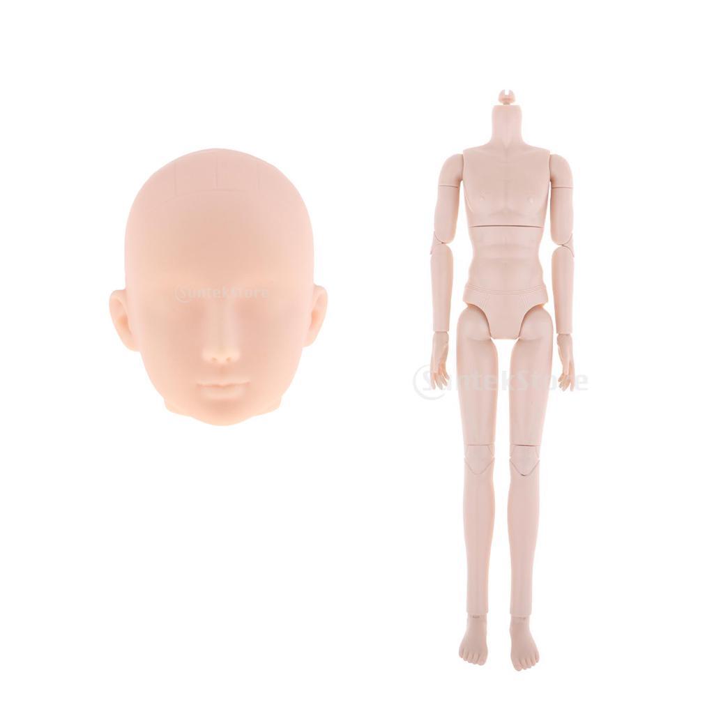 1//6 Bjd Nude Doll Big Bust Female Ball-Jointed Doll Body Part Custom Use DIY