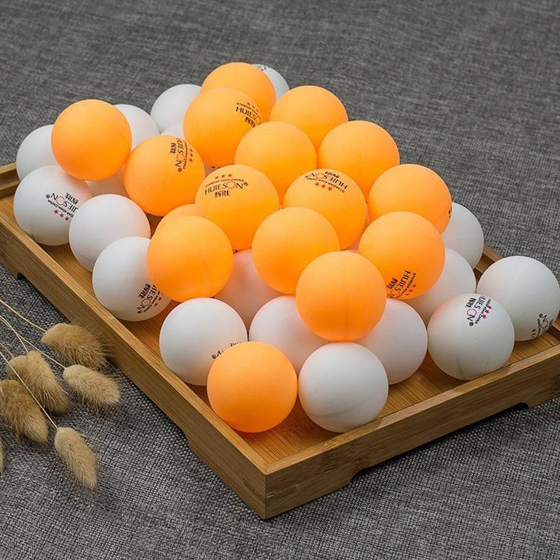 Sport Table Tennis Ball Competition White 40MM 10PCS Professional Durable