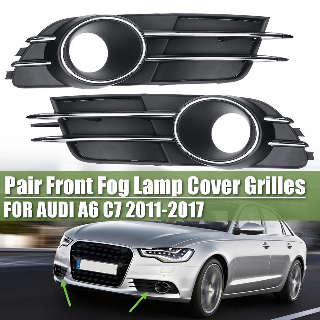 Front Bumper Fog Light Grille Trim Cover Left For Audi A4 B7 S-Line 05-08